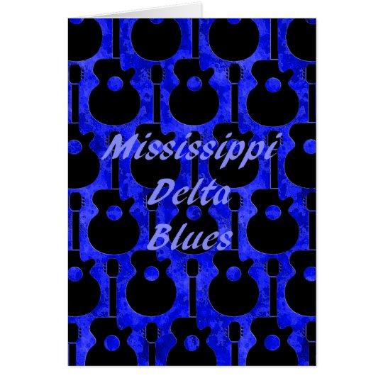 Mississippi Delta Blues Card