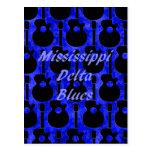 Mississippi Delta Blues Post Card
