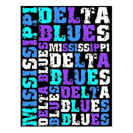 MISSISSIPPI DELTA BLUES POST CARDS