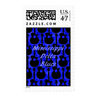 Mississippi Delta Blues Postage