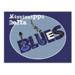 Mississippi Delta Blues Postcard