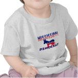Mississippi Demócrata Camisetas