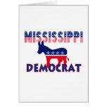 Mississippi Demócrata Tarjeta