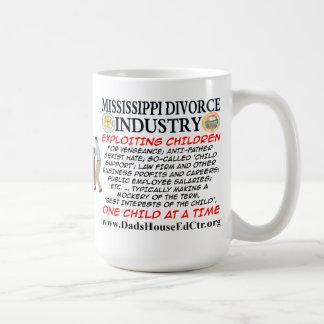 Mississippi Divorce Industry. Mugs
