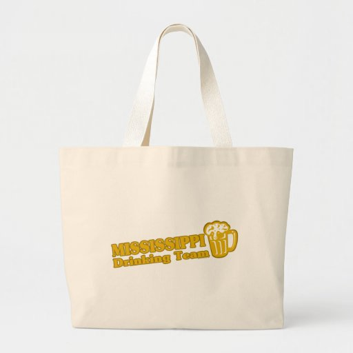 Mississippi Drinking Team t shirts Bag