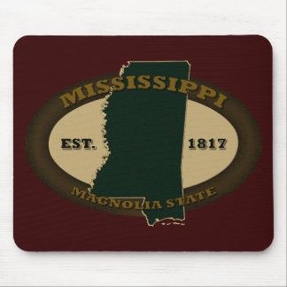 Mississippi Est. 1817 Mouse Pad