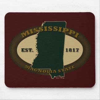 Mississippi Est. 1817 Mousepads
