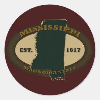 Mississippi Est. 1817 Etiquetas