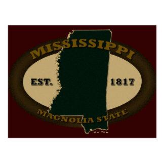 Mississippi Est. 1817 Postales