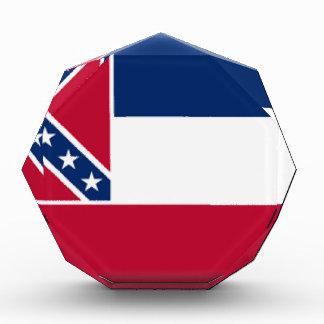 Mississippi Flag Acrylic Award