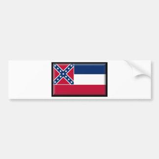 Mississippi Flag Bumper Stickers