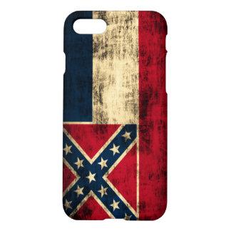 Mississippi Flag Grunge iPhone 7 Case