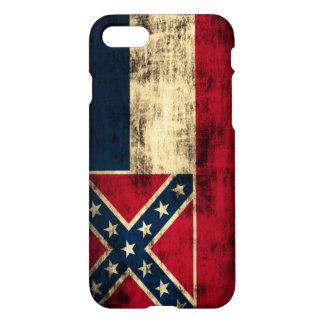 Mississippi Flag Grunge iPhone 8/7 Case