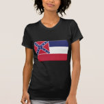 Mississippi Flag PERSONALIZE Tee Shirt