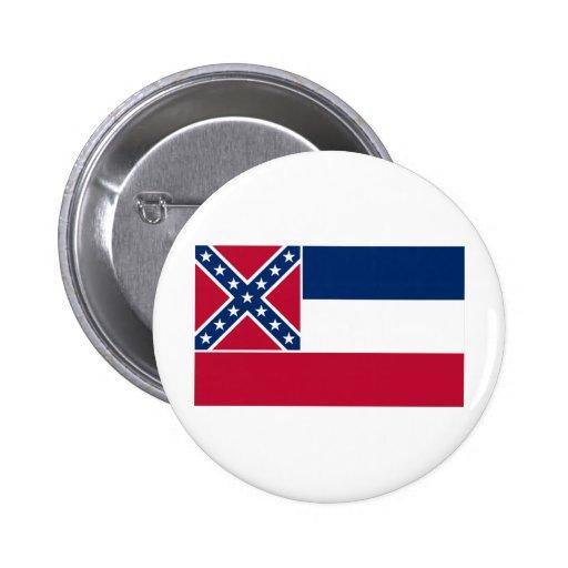 Mississippi Flag Pins