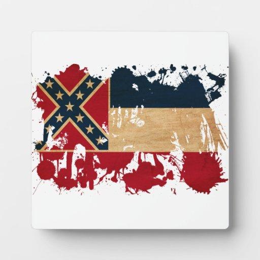 Mississippi Flag Plaques