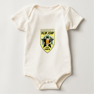 Mississippi Flip Cup State Champion Baby Bodysuit