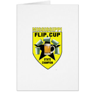 Mississippi Flip Cup State Champion Card