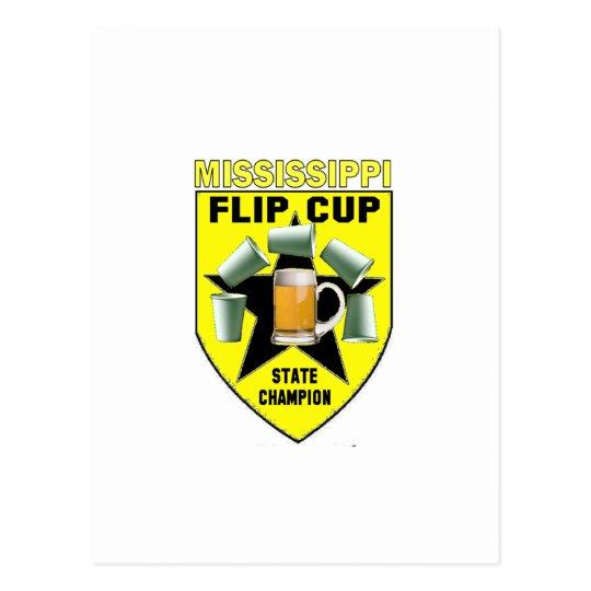 Mississippi Flip Cup State Champion Postcard