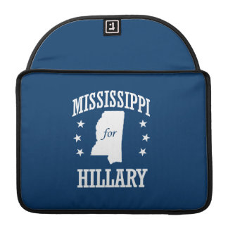 MISSISSIPPI FOR HILLARY MacBook PRO SLEEVES