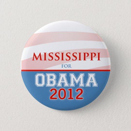 MISSISSIPPI for Obama 2012 Button