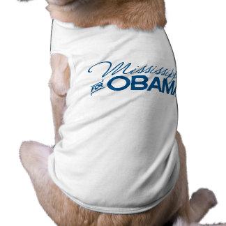 Mississippi for Obama -.png Pet Shirt