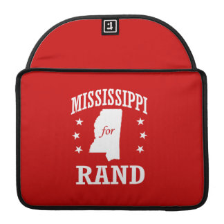 MISSISSIPPI FOR RAND PAUL SLEEVES FOR MacBook PRO