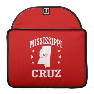 MISSISSIPPI FOR TED CRUZ SLEEVES FOR MacBooks
