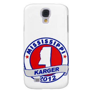 Mississippi Fred Karger Samsung Galaxy S4 Covers
