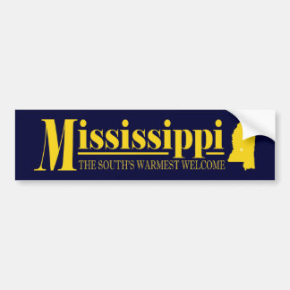 Mississippi Gold Bumper Sticker