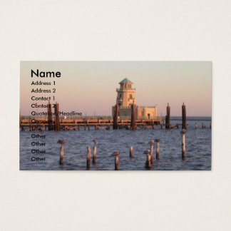 """MISSISSIPPI GULF COAST"" BUSINESS CARD"