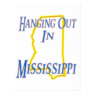 Mississippi - Hanging Out Postcard