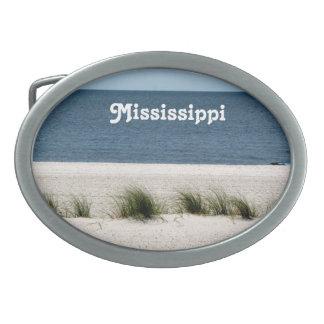Mississippi Hebilla De Cinturon Oval