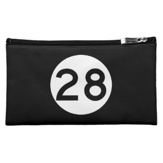 Mississippi Highway 28 Cosmetic Bag