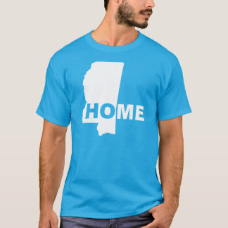 Mississippi Home Away From State T-Shirt Tees