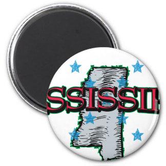 Mississippi Imán De Frigorifico
