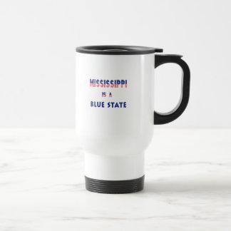 Mississippi is a Blue State Travel Mug