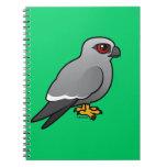 Mississippi Kite Spiral Note Books