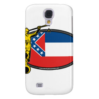 Mississippi LDS Mission no Label Angel Moroni Galaxy S4 Cases