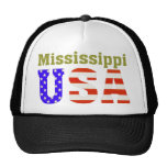 ¡Mississippi los E.E.U.U.! Gorro De Camionero