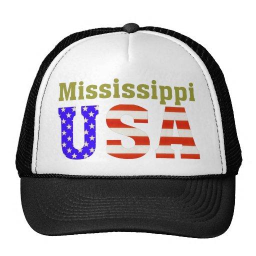 ¡Mississippi los E.E.U.U.! Gorros