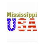 ¡Mississippi los E.E.U.U.! Postal