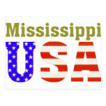 ¡Mississippi los E.E.U.U.! Postales