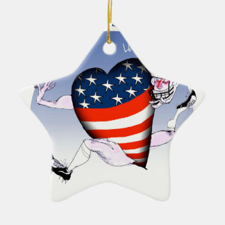mississippi loud and proud, tony fernandes ceramic ornament