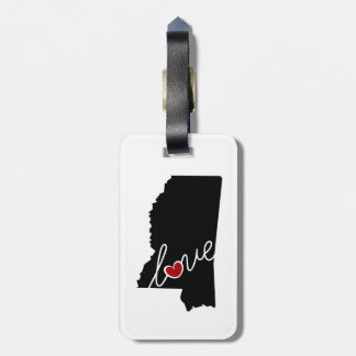 Mississippi Love!  Gifts for MS Lovers Bag Tag
