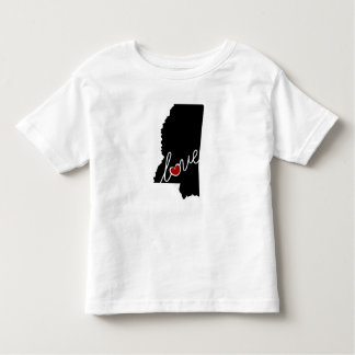 Mississippi Love!  Gifts for MS Lovers Toddler T-shirt