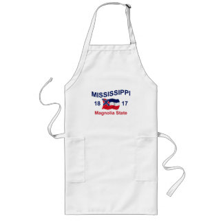 Mississippi Magnolia State Long Apron