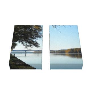 Mississippi majestuoso lienzo envuelto para galerias