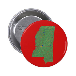 Mississippi Map Button