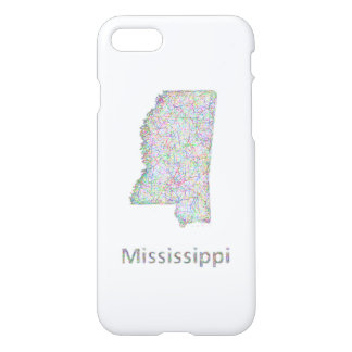 Mississippi map iPhone 7 case